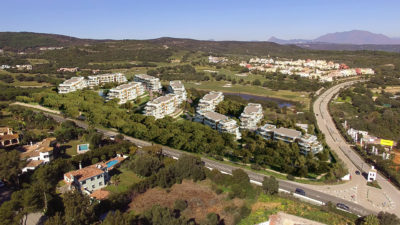 Village Verde Sotogrande - aerial south