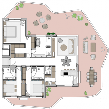 Village Verde Sotogrande - 3 bed plan